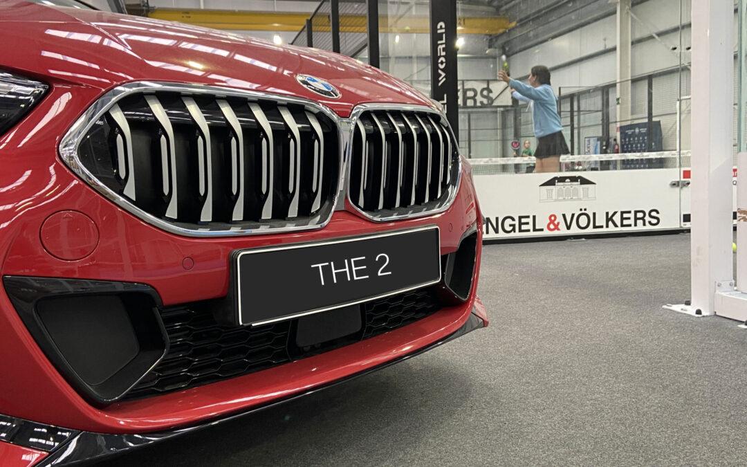 Nuevo BMW Serie 2 GC expuesto en Padel Norte